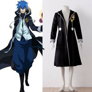 Fairy Tail Jellal Fernandes Cosplay Costume Anime clothing Christmas