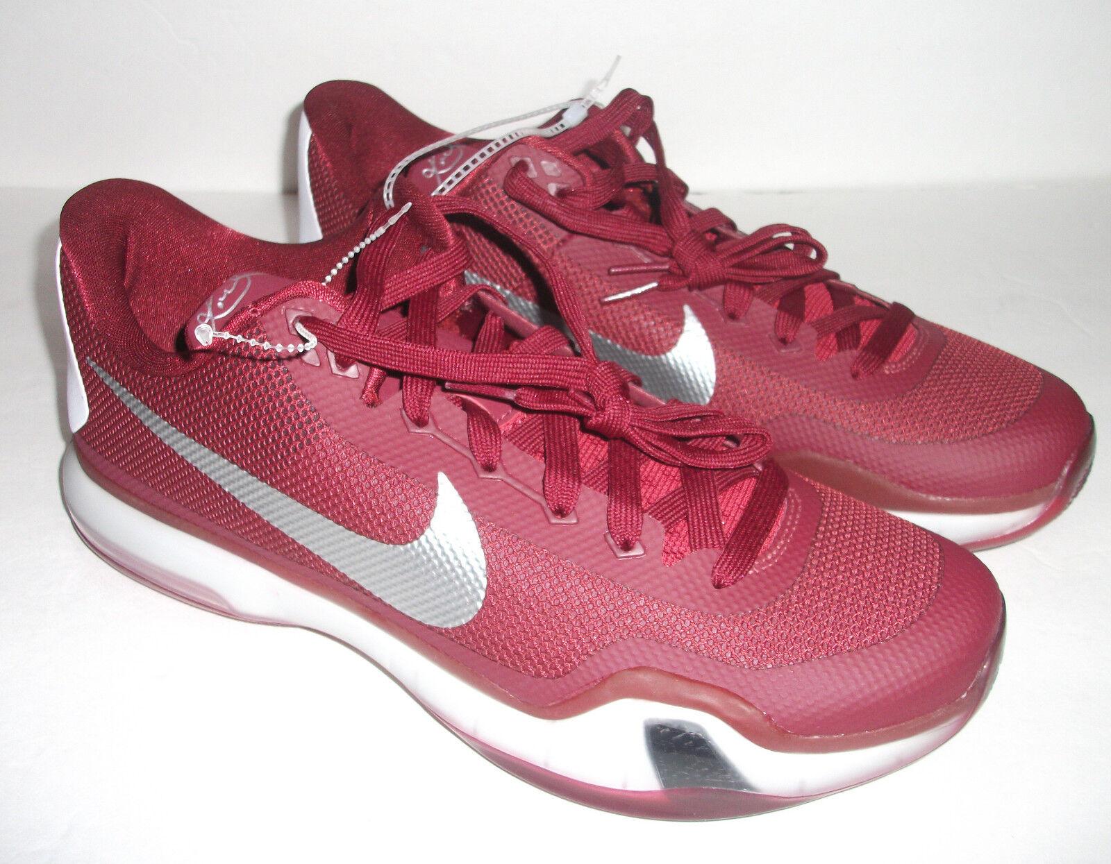 Nuove nike x 10 tb basket, basket, tb multi dimensioni, rossa, 813030 601 8fb991