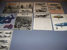 VINTAGE..GRUMMAN F7F TIGERCAT..PROFILE/DETAILS/VARIANTS..RARE! (837)