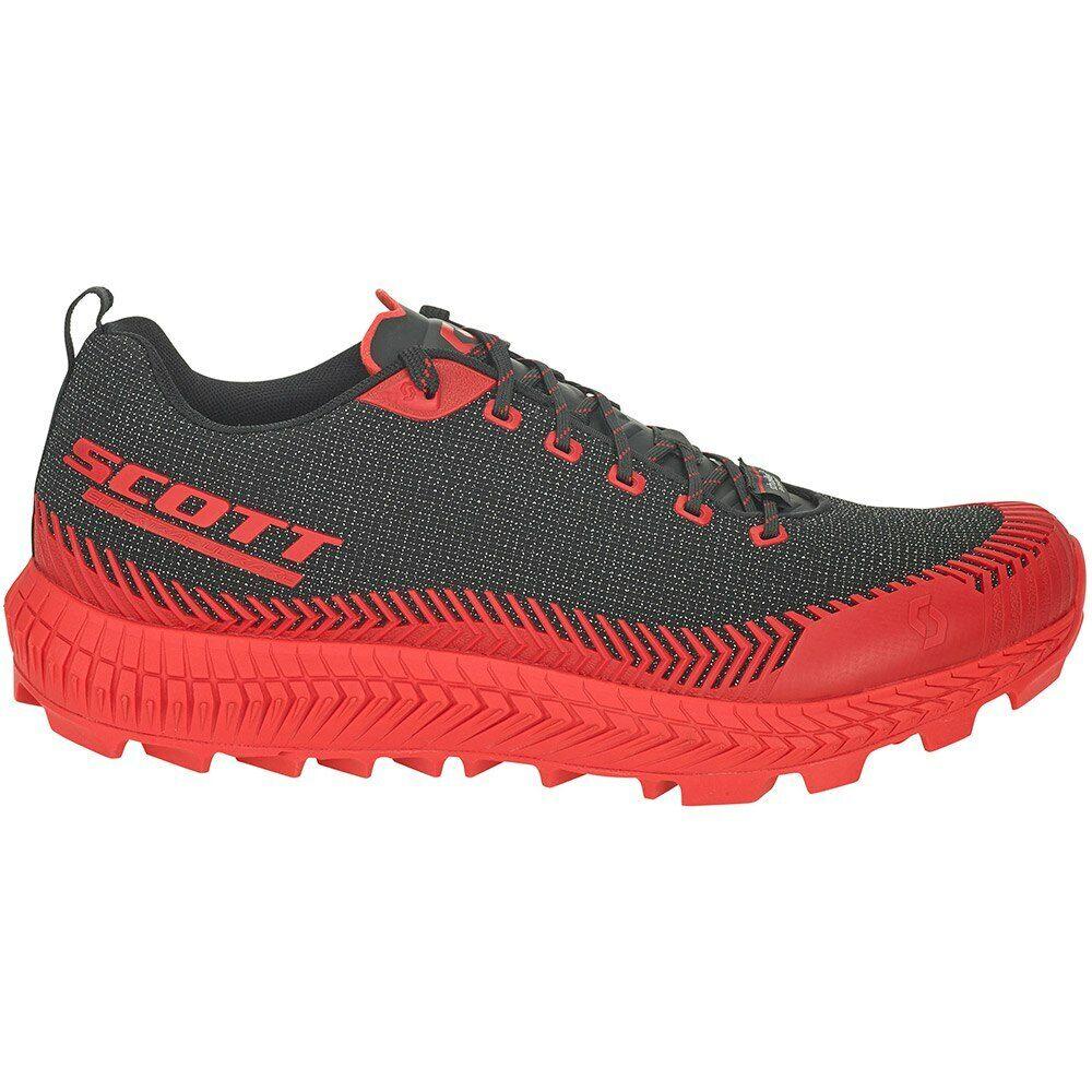 Scott Supertrac Ultra Rc Rojo Negro T50537  zapatillas Trail Running  Rojo Negro