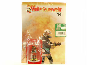 Die Ganze World The Fire Brigade 14 Plongeur French Diver 2002 Nip 1409-20-44