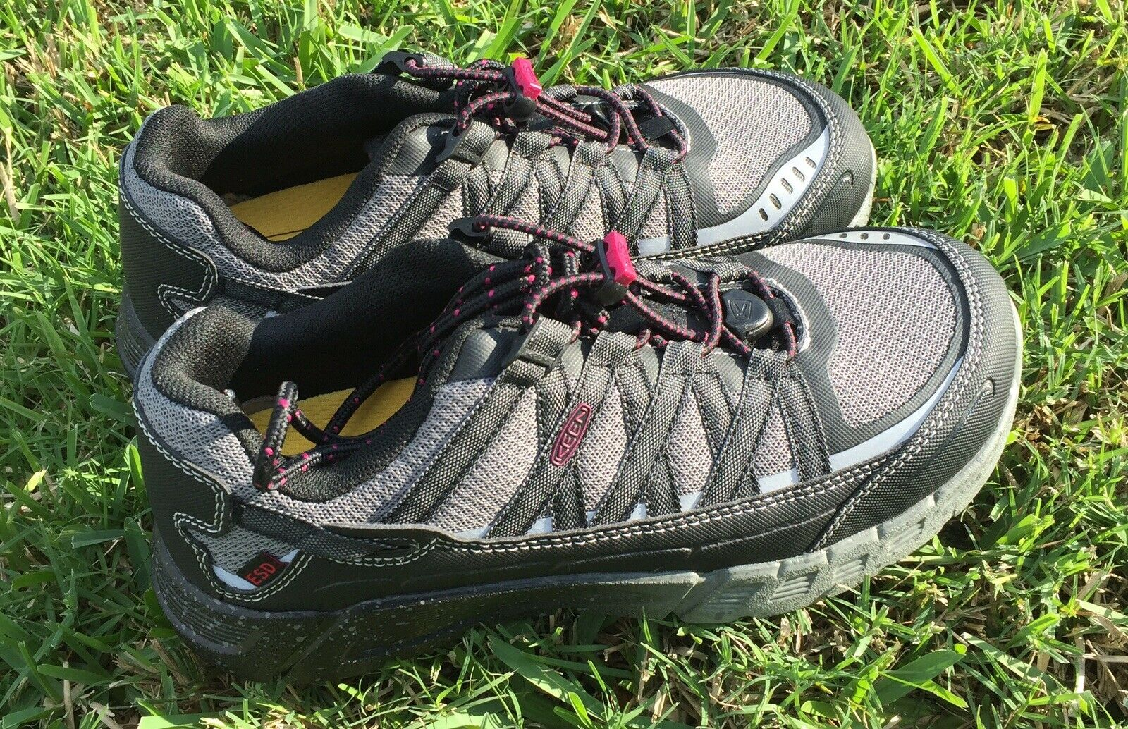 """NEW"" Keen Utility Women's Asheville Aluminum Toe ESD Work shoes Stlye Sz 8.5"