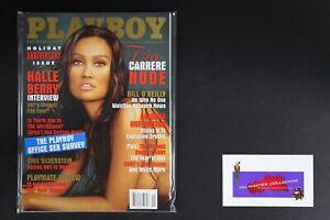 💎 PLAYBOY MAGAZINE:  JAN 2003 TIA CARRERE HALLE BERRY HOLIDAY ANNIVERSARY💎