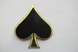 2696-4-034-Black-Spades-Suit-Playing-Card-Biker-Poker-Embroidery-Applique-Patch