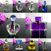 Exquisitely Hand Made Glass Crystal Perfume Bottles By Elise. Choose Your Style.