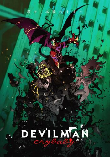 DEVILMAN CRYBABY Poster A1 - A2