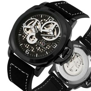 FORSINING-Watch-Men-039-s-Skeleton-Automatic-Mechanical-Watches-Leather-Strap-Reloj