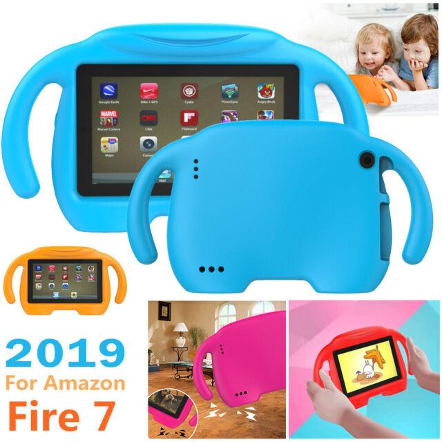 Kids Children Safe Case Eva Foam Cover F Amazon Kindle Fire Hd 7 2017 Tablet Pc Red For Sale Online Ebay