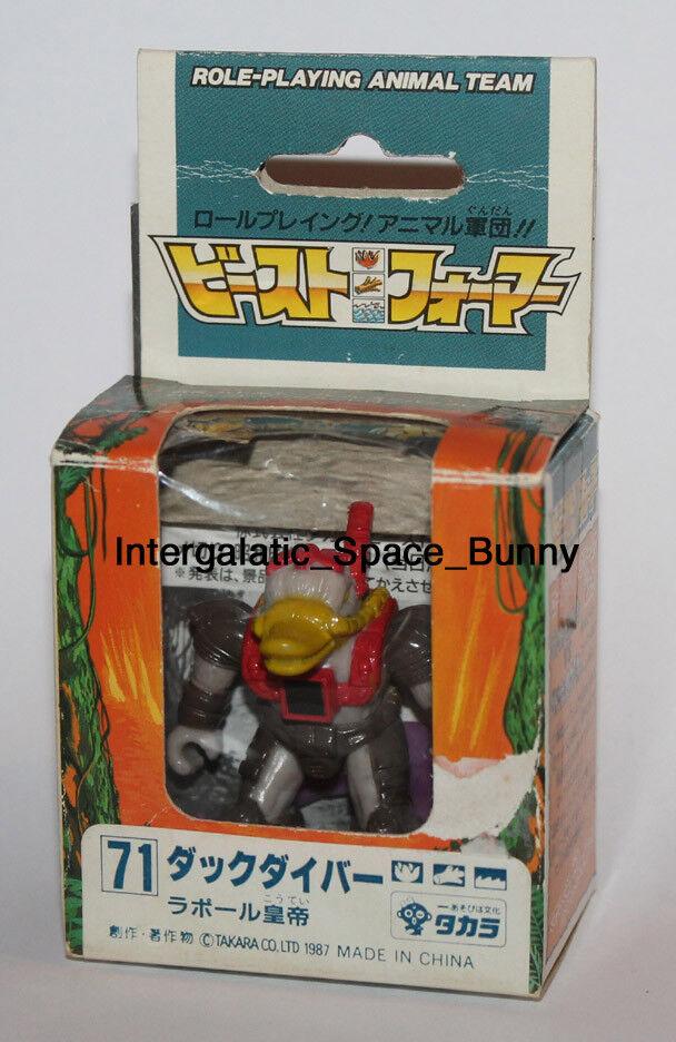 Takara Battle Beasts Beastformers Series 3 Duck Diver Boxed & Complete