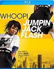 Jumpin Jack Flash 0013132606187 With Whoopi Goldberg Blu-ray Region a