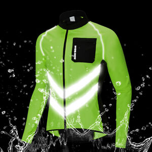 High-Visibility-Cycling-Jacket-Windproof-Reflective-Vest-Bike-Jersey-Wind-Coat