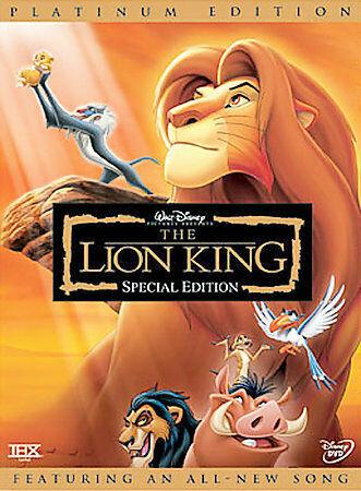 The Lion King Dvd 2003 2 Disc Set Platinum Edition For Sale Online Ebay