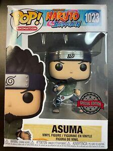 Funko Pop Asuma Naruto Special Edition Sticker 1023