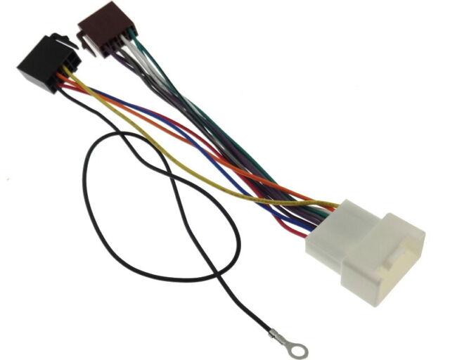 Adaptador de Radio Citroen Peugeot Mitsubishi sin Navi Iso Conector Mazo Cables