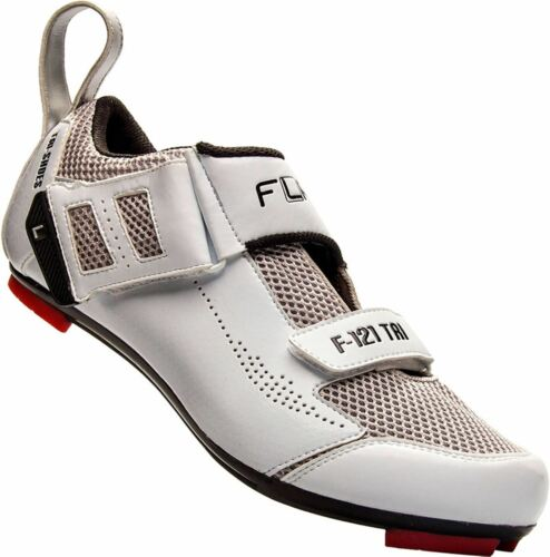 Size 38 Mountain and Road Bike Cycling FLR F-121 Triathlon Shoe in White