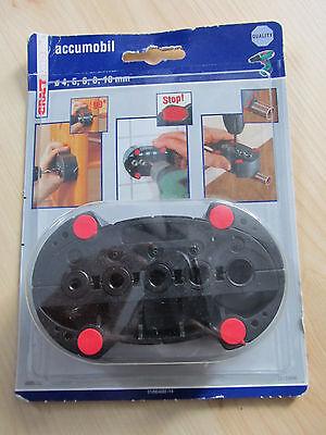 Mobile Bohrhilfe  accumobil  Ø 4,5,6,8,10 mm für Akku-Schrauber Bohrmaschinen