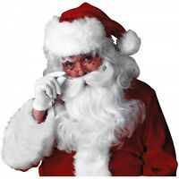 Deluxe Santa Claus Wig & Beard Set Costume Accessory Adult Christmas Fancy Dress on sale