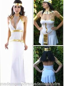 Greek goddess costume fancy dress outfit athena aphrodite cleopatra image is loading greek goddess costume fancy dress outfit athena aphrodite solutioingenieria Gallery