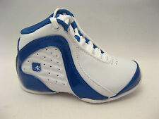 Boys Basketball Shoes 11 Kids Youth AND1 Rocket 2.0 Mid White Royal Blue 11K NEW