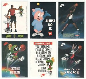 409f068f3bc2 Rare MICHAEL JORDAN 1993 Nike Air Jordan Looney Tunes Sticker Set ...