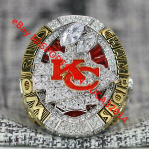 Official 2019 2020 Kansas City Chiefs Championship Ring 8 ...