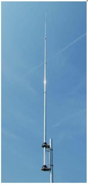 Sigma Venom 1/2 wave Silver Rod CB Base Station Antenna 11 and 10 meters