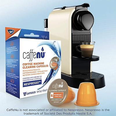 Caffenu Coffee Machine Cleaning Capsules And Liquid Descaler For Coffee Machines Ebay