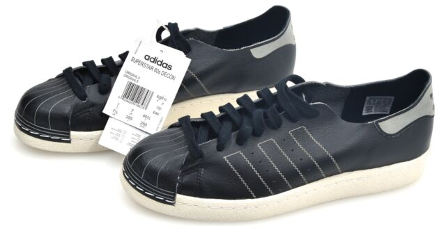 Eleganti Adidas Superstar 80s Decon Scarpa Bianco Uomo