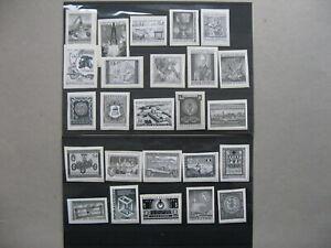 CINDERELLA-AUSTRIA-25x-blackprint-on-paper-fragments