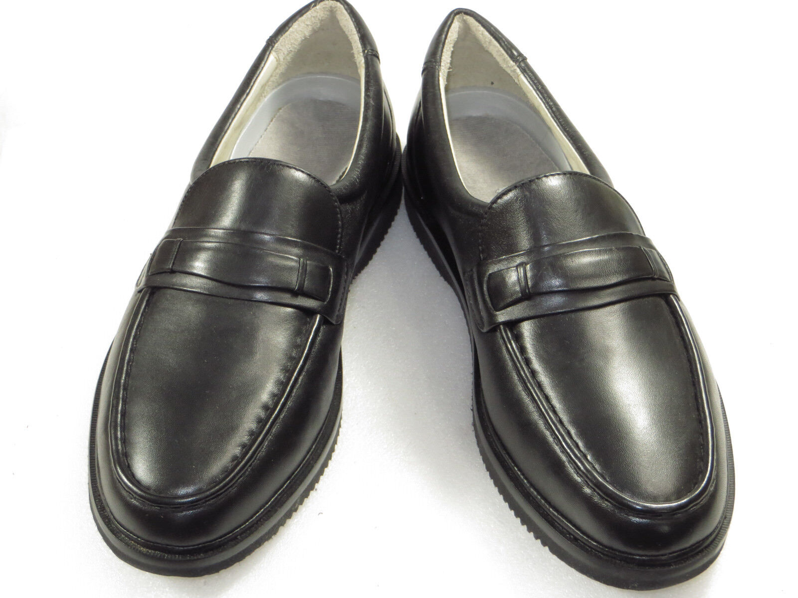 NWOB ROCKPORT Men's,slip on,loafer,light,comfy,walk,work,dress,Leather 9W 130