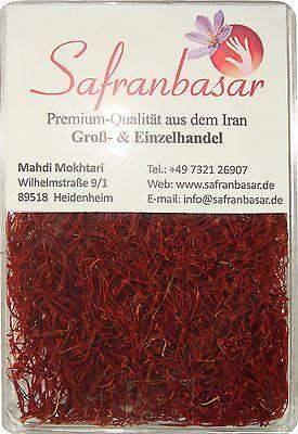 Safranfäden Pushal PREMIUM-QUALITÄT Saffron azafran Zafferano Safran neue Ernte