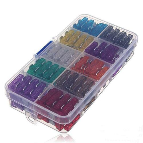 100pcs Standard Blade Fuse Assortiment Auto Car Motorcycle SUV FUSES ATC ATO