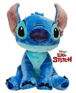 Soft Toy Stitch 11 13/16in Parlante Tongue English Original DISNEY Lilo Officer