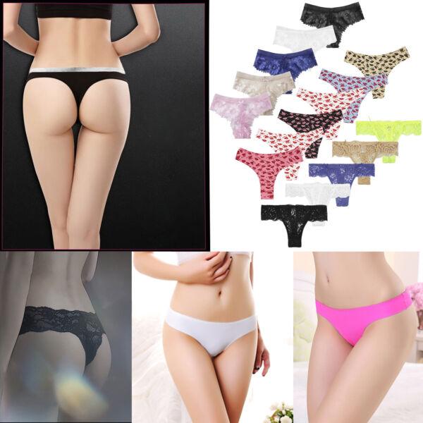 Glamexx24 Damen unterwäsche 6er Slips-Panties-Unterhosen Tangas ALL MIX Farben