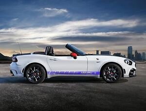 97 5 Multiple Graphics 500 Abarth Abarth Abarth 124 Spider Car