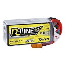 Tattu R-Line 4S 1300mAh 14.8v 95C 4S1P Lipo Battery w/XT60 Plug * Racing Drone *
