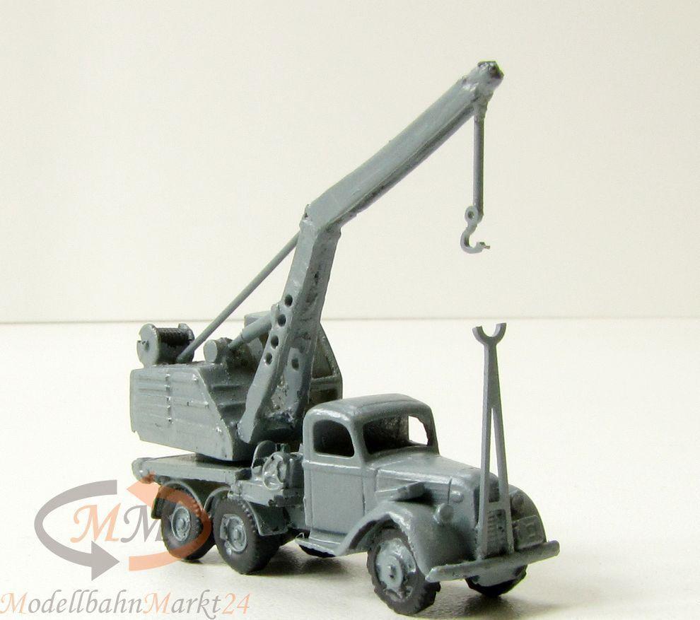 Ford Militär-Kran Standmodell in grau Zweiter Weltkrieg Maßstab 1 160