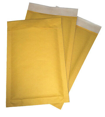 250 #00 5x9 Kraft Bubble Mailers Padded Envelopes FAST SHIP OVERSTOCK