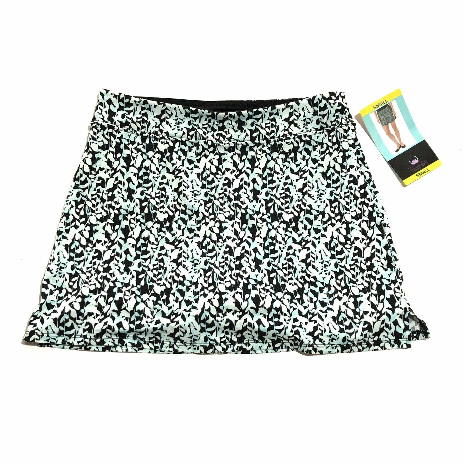 NWT Tranquility by Colorado Clothing Skort in Dense Leaves Sz: S