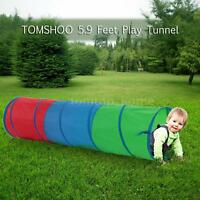 Tunnel Toys Kids Toddler Play Activity Pretend Adventure Portable Hot Sale B6n0