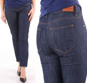 Wrangler-Damen-Jeans-Hose-Bespoke-Slim-Retro-Dry-Denim-marineblau-W26-W34