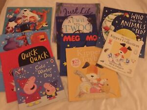 childrens book bundle age 35 ten books in good condition