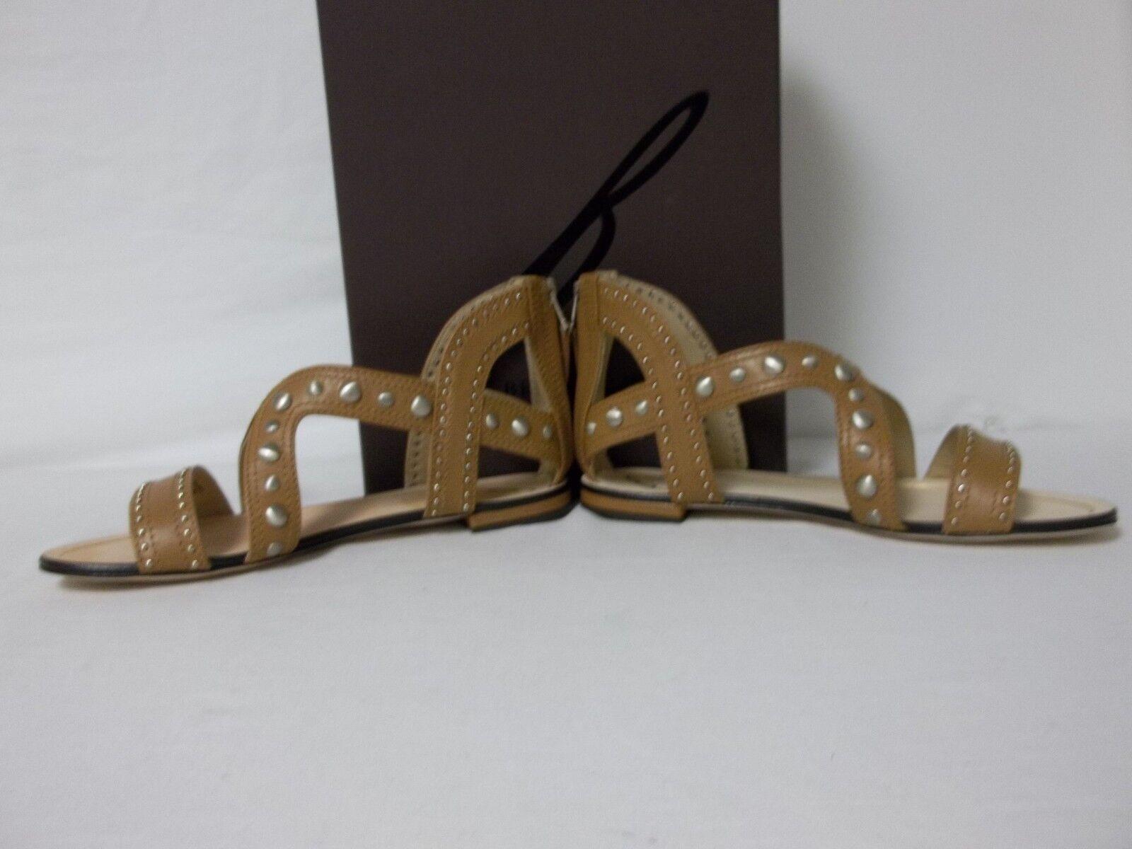 Brian Atwood Größe 6 M Angela Braun Leder Gladiator Sandales NEU Damenschuhe Schuhes
