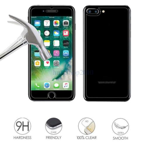 Back+Front Cover Tempered Glass Screen Protector For Apple iPhone 5S 6 6S 7 Plus