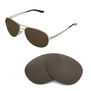 46ed49b7eea Image is loading New-Walleva-Brown-Polarized-Replacement-Lenses-For-Oakley-
