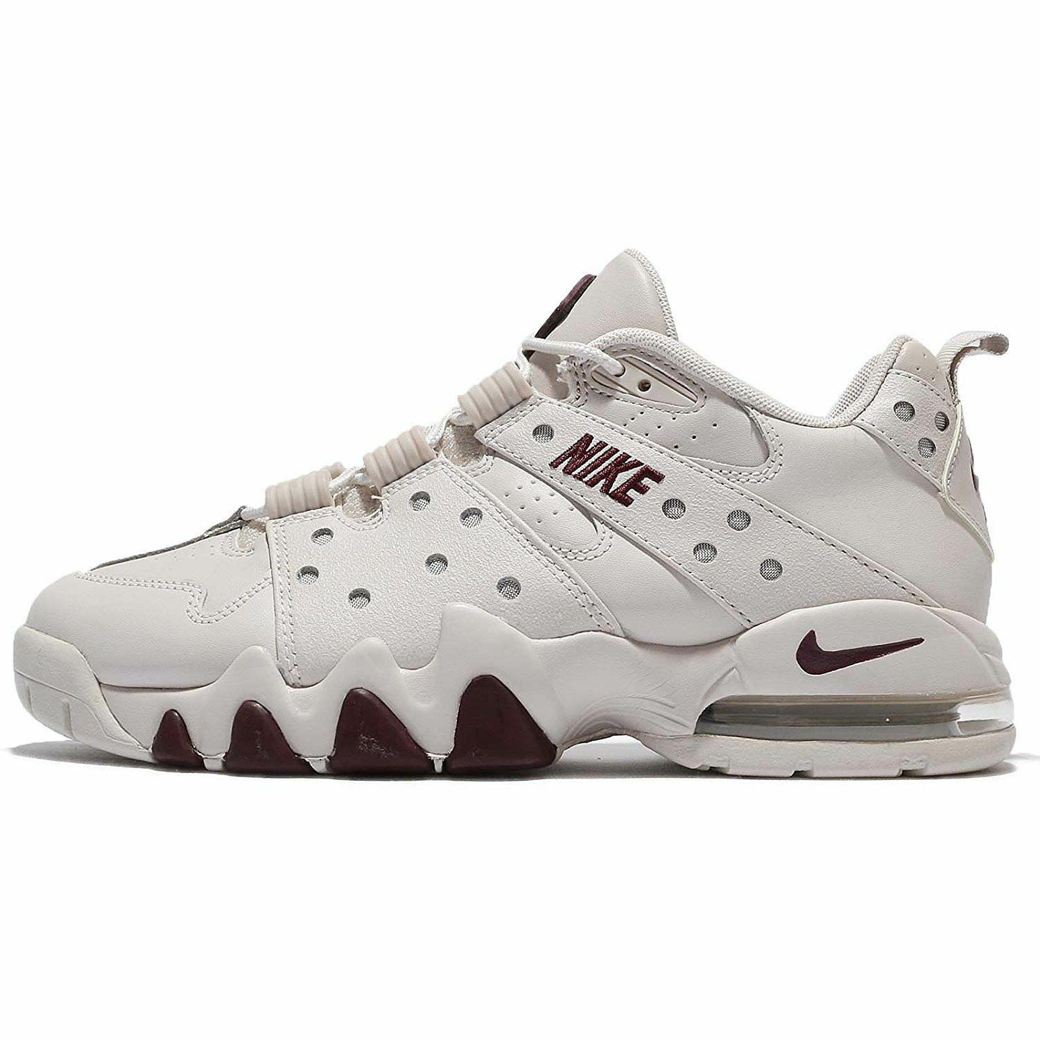 Nike Air Max CB '94 Low Charles Barkley Men Shoes Light Bone/Bordeaux 917752 004