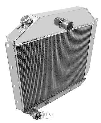 3Row Aluminum Radiator For 1941-1949 International Harvester Pickup Truck L6 GAS
