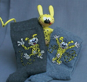 Marsupilami Socks - Men & Boys - French Comic Character - Fun!