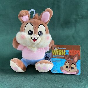 Disney Parks Wishables SPLASH MOUNTAIN BRIAR Br'er RABBIT Plush Wishable NEW