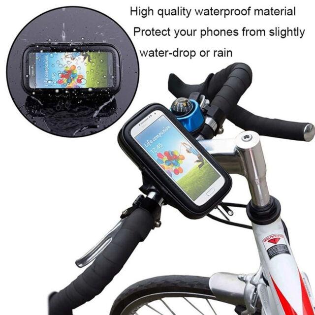 360 ° étanche Vélo Mount Holder Téléphone Étui Housse pour tous les téléphones